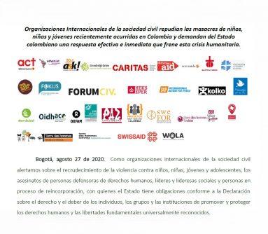 Repudio_masacres_niñas_niños_Colombia